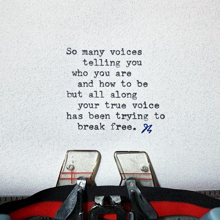 so many voices true